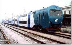 Un treno delle linee regionali