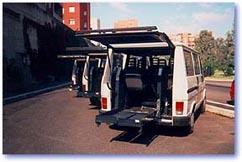 Un furgone per il trasporto disabili
