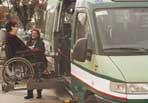 Minibus del comune di Roma