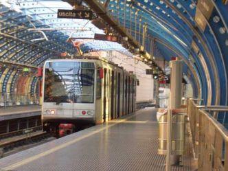 stazione brin della metro genovese