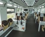 interno del treno arenaways
